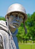 Korean War Monument royalty free stock image