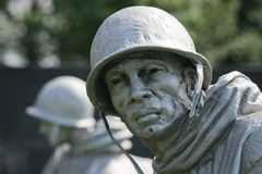 KOREAN WAR SCULPTURE Stock Photos