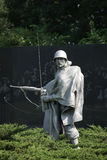 KOREAN WAR SCULPTURE Stock Photo