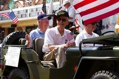 Korean War Veterans Royalty Free Stock Photos