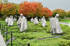 Korean War Veterans Memorial Stock Image