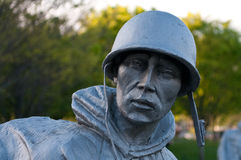 Korean war veterans memorial Royalty Free Stock Photos