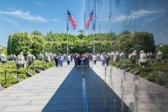 Korean War Veterans Memorial Royalty Free Stock Photography
