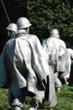 The Korean War Veterans Memorial Stock Image