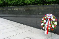 Korean war veterans memorial Royalty Free Stock Images