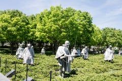 Korean War Veterans Memorial Royalty Free Stock Photo