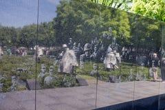 Korean War Veterans Memorial Stock Image