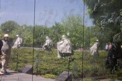 Korean War Veterans Memorial Stock Photo