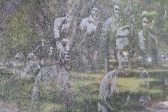 Korean War veterans memorial 3 Washington DC Stock Images