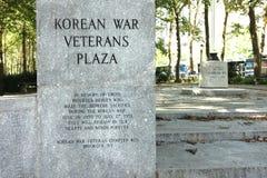 Korean War Veterans Plaza Royalty Free Stock Photos