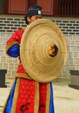 Korean warrior in Hwaseong Fortress