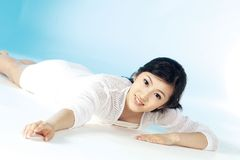 Korean woman Royalty Free Stock Photography