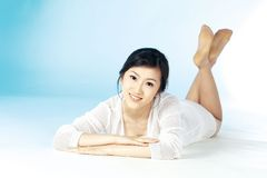 Korean woman Royalty Free Stock Photos