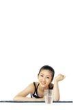 Korean woman Royalty Free Stock Photo