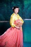 Korean woman Stock Photo