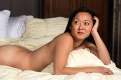 Korean woman Royalty Free Stock Images
