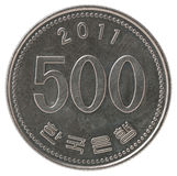 Korean 500 won Stock Photos