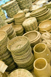 Koreanische Bambusprodukte lizenzfreie stockfotos