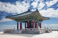 Koreanische Bell der Freundschaftspagode stockfotografie