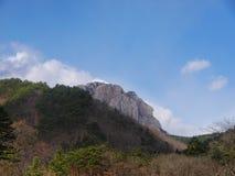 Koreanische Berge Seoraksan Stockfoto