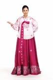 Koreanische Dame Lizenzfreie Stockfotos