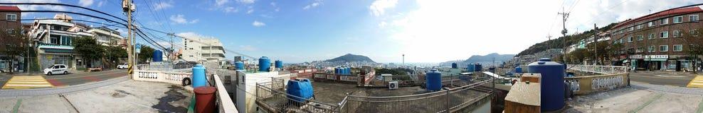 Koreanische Hügelansicht Stockbilder