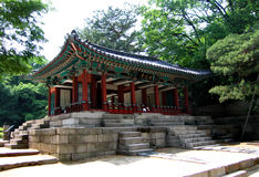 Koreanische königliche Zwischenstation stockbilder