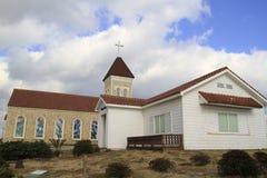 Koreanische Kirche Stockfotos