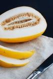Koreanische Melone Lizenzfreies Stockbild