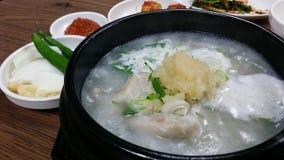 Koreanische Nahrung Lizenzfreies Stockbild