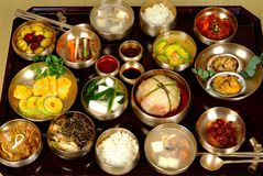 Koreanische Nahrung Stockfotos