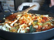 Koreanische Nahrung Lizenzfreie Stockfotografie