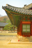 Koreanische traditionelle Architektur Stockbild