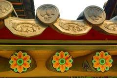 Koreanische traditionelle Architektur Lizenzfreie Stockfotografie