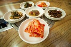 Koreanische traditionelle Nahrungsmittel Kimchi lizenzfreies stockfoto