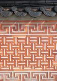 Koreanische Wand lizenzfreies stockbild