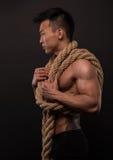 Koreanischer Athlet Stockfoto