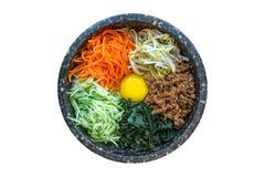 Koreanischer Bibimbap Stockfoto