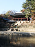 Koreanischer Garten Lizenzfreie Stockfotos