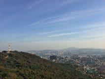 Koreanischer Gazebo stockfoto