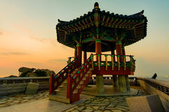 Koreanischer Gazebo Lizenzfreie Stockbilder