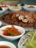 Koreanischer Grill 5 Stockfotos