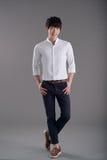 Koreanischer junger Mann Stockfotografie