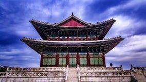 Koreanischer Königkonferenzsaal Stockbild