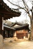 Koreanischer Palast stockbilder