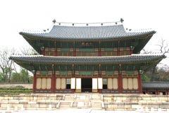 Koreanischer Palast lizenzfreies stockbild