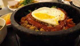 Koreanischer Reis - Bibim Bap Lizenzfreie Stockbilder