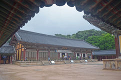 Koreanischer Tempel Lizenzfreie Stockfotos