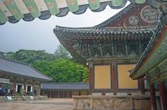 Koreanischer Tempel Lizenzfreies Stockbild
