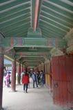 Koreanischer Tempel Stockbild
